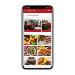 chapfood delivery mobile app developed by nougat technologies Arusha tanzania